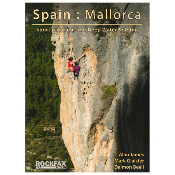 Rockfax - Mallorca Sport Climbing And DWS - Klätterförare