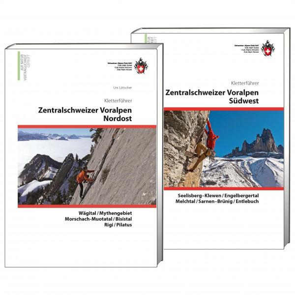 SAC-Verlag - Kletterführer Zentralschweizer Voralpen Set - Klimgidsen