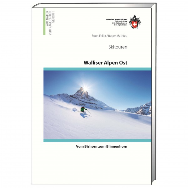 SAC-Verlag - Skitouren Walliser Alpen Ost - Ski tour guide