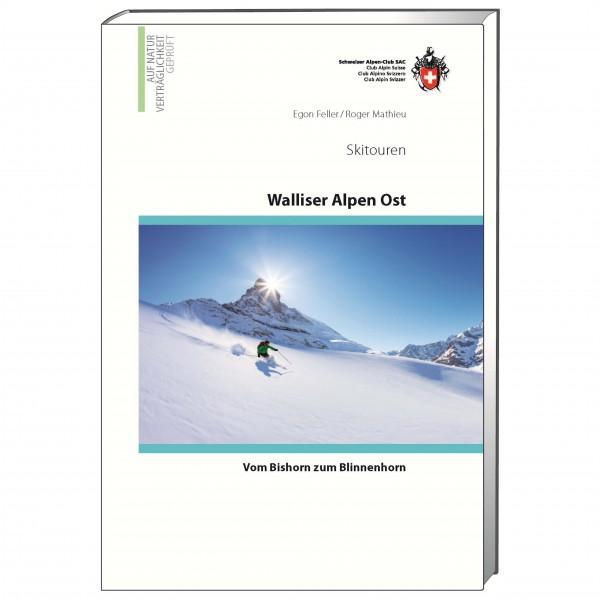 SAC-Verlag - Skitouren Walliser Alpen Ost - Skitourenführer