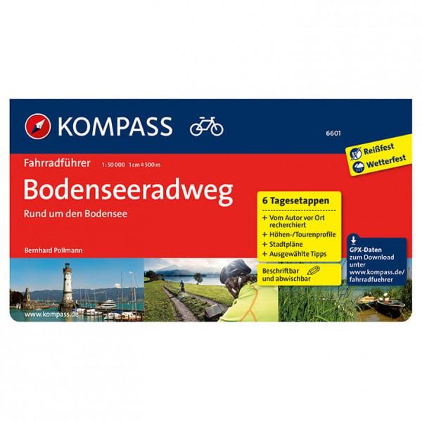 Kompass - Bodenseeradweg - Radführer