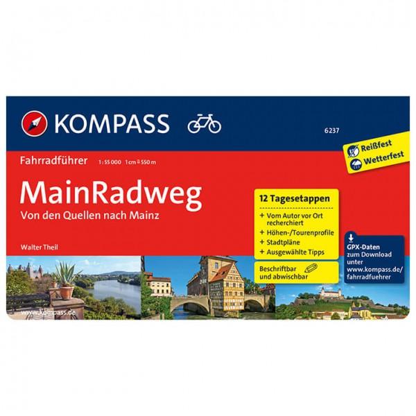 Kompass - Mainradweg von Bayreuth nach Mainz - Radführer
