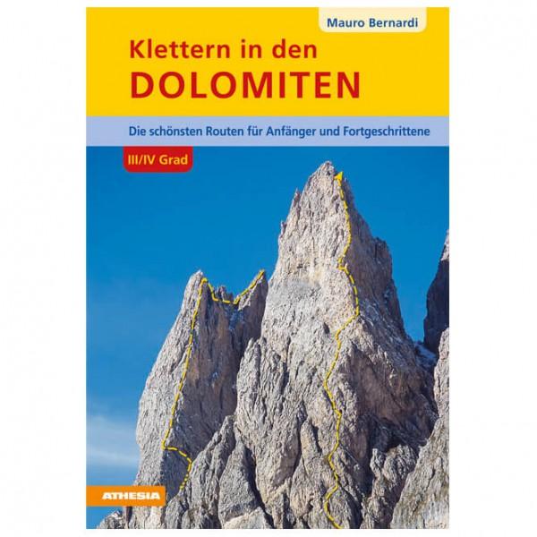 Athesia Tappeiner Verlag - Klettern in Den Dolomiten im 3.+ 4. Grad - Climbing guide