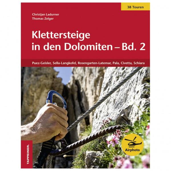 Tappeiner - Klettersteige in den Dolomiten - Klettersteiggids