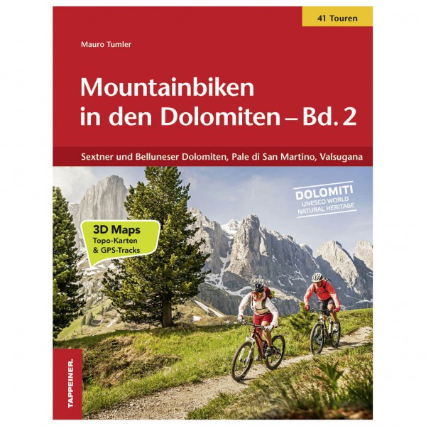 Tappeiner - Mountainbiken in den Dolomiten - Cycling guide