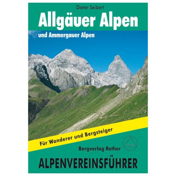 Bergverlag Rother - Allgäuer Alpen und Ammergauer Alpen - Alppiyhdistysten oppaat