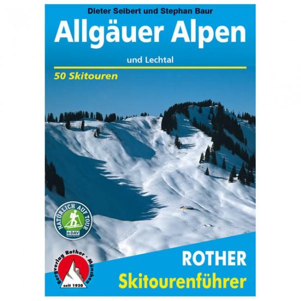 Bergverlag Rother - Allgäuer Alpen und Lechtal - Skitourgidsen