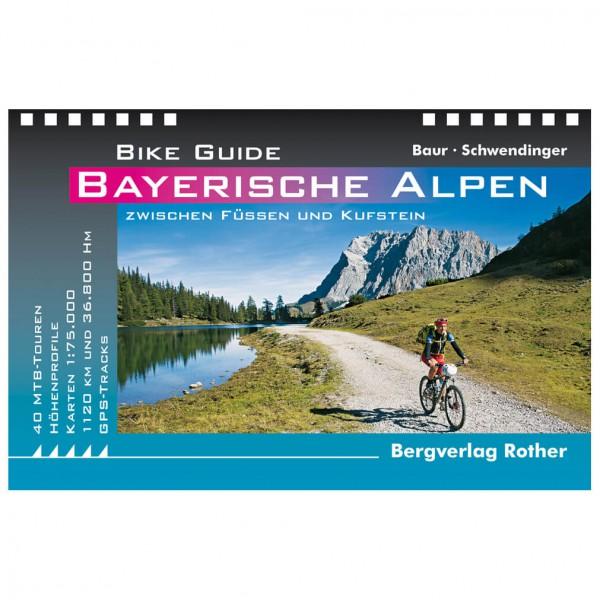 Bergverlag Rother - 40 MTB-Touren Füssen und Kufstein - Cykelguides