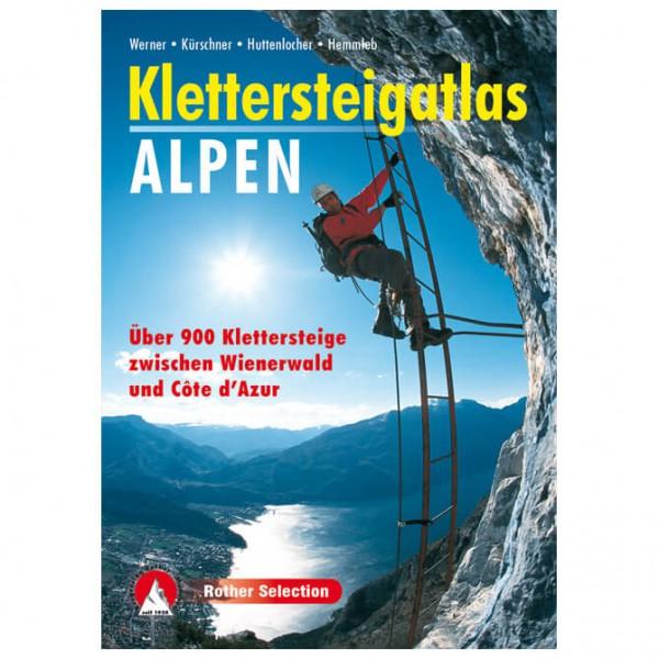 Bergverlag Rother - Klettersteigatlas Alpen - Via Ferrata förare