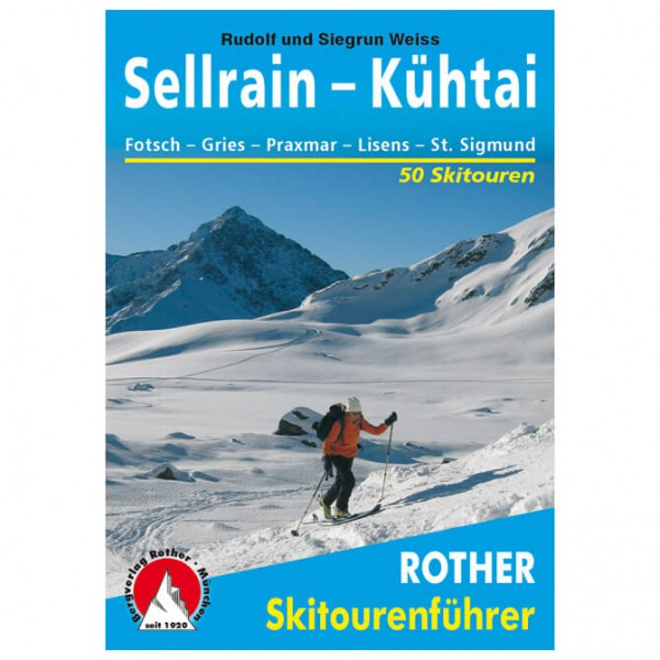 Bergverlag Rother - Sellrain - Kühtai - Ski- og snøskoturer