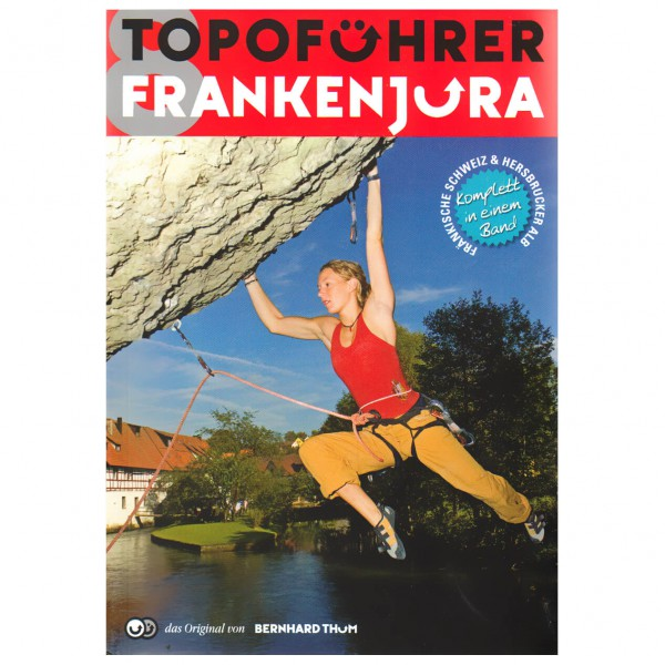 Bernhard Thum - Topoführer Frankenjura - Bouldering guide