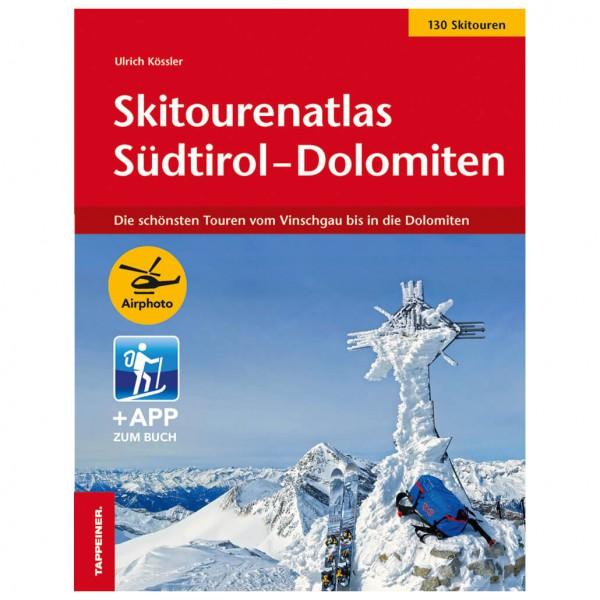 Tappeiner - Skitourenatlas Südtirol–Dolomiten - Lasketteluretkioppaat