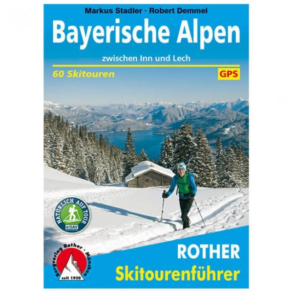 Bergverlag Rother - Bayerische Alpen - Ski tour guide