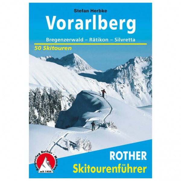 Bergverlag Rother - Vorarlberg - Skiturguides