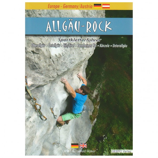 Gebro-Verlag - Allgäu-Rock - Climbing guide