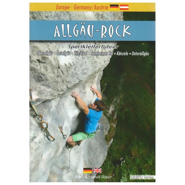 Gebro-Verlag - Allgäu-Rock - Kiipeilyoppaat