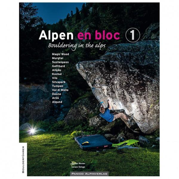 Panico Alpinverlag - Alpen en Bloc - Band 1 - Bouldergidsen