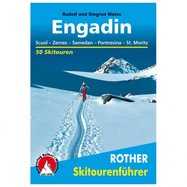 Bergverlag Rother - Engadin - Ski- og snøskoturer