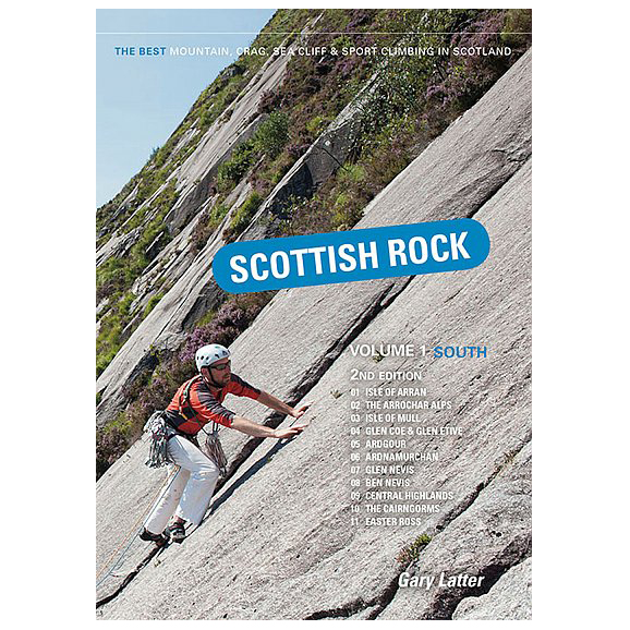 Pesda Press - Scottish Rock - Volume One - South - Klatreguide
