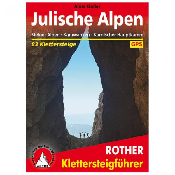 Bergverlag Rother - Klettersteige Julische Alpen - Via Ferrata förare