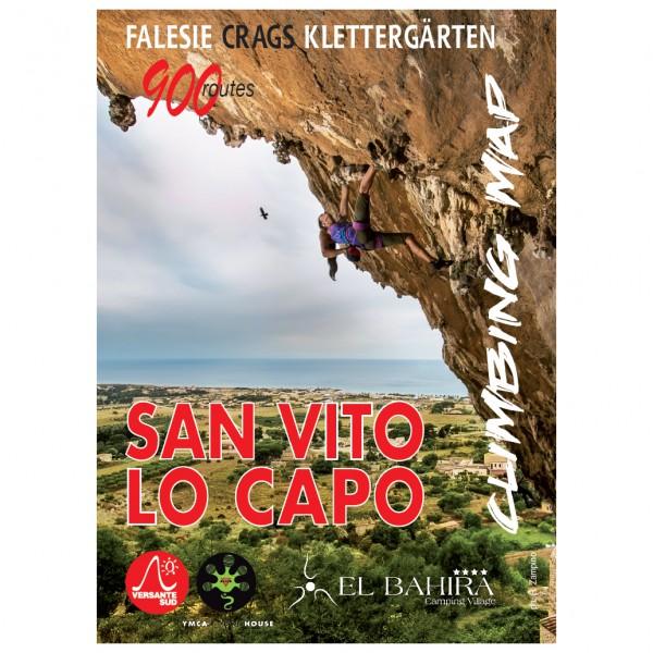 Versante Sud - San Vito Lo Capo Climbing Map - Guías de escalada