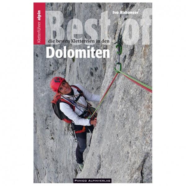 Panico Alpinverlag - Best of Dolomiten - Kiipeilyoppaat