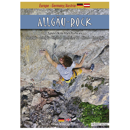 Gebro-Verlag - Allgäu-Rock - Guías de escalada