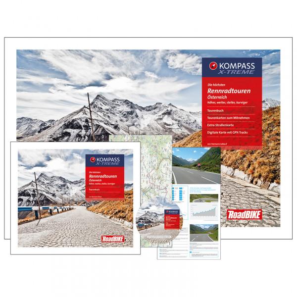 Kompass - Die höchsten Rennradtouren Österreich - Pyöräilyoppaat
