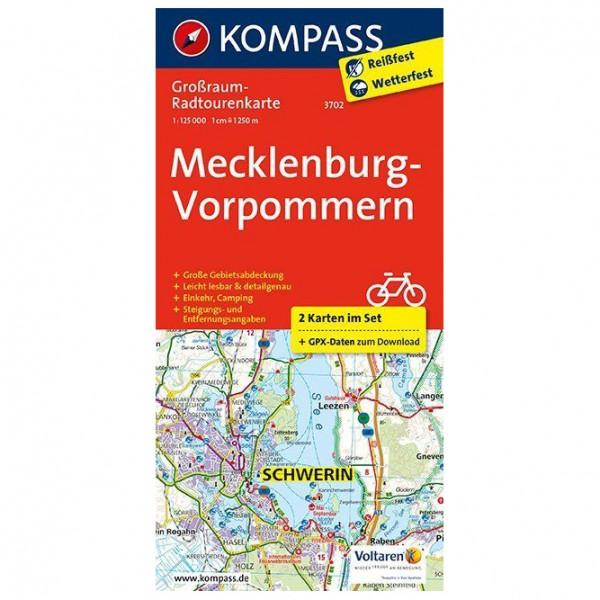 Kompass - Mecklenburg-Vorpommern - Cykelkartor