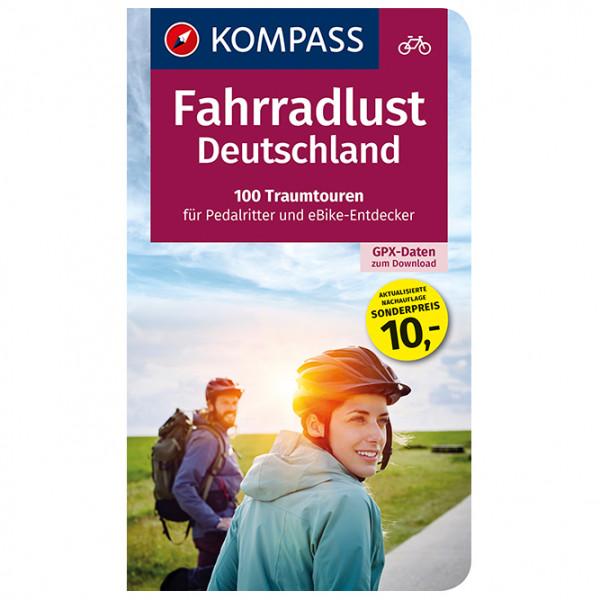 Kompass - Fahrradlust Deutschland, 100 Traumtouren - Fietsgidsen