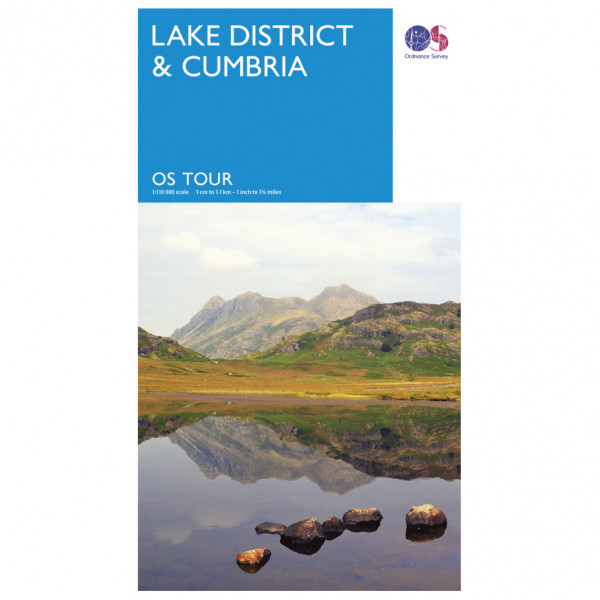 Ordnance Survey Lake District / Cumbria Tour - Cykelkort køb online | Cycle maps