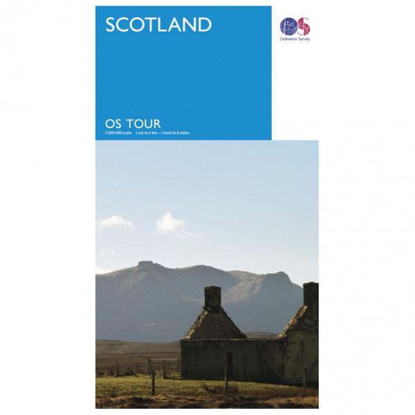 Scotland Tour - Cycling map