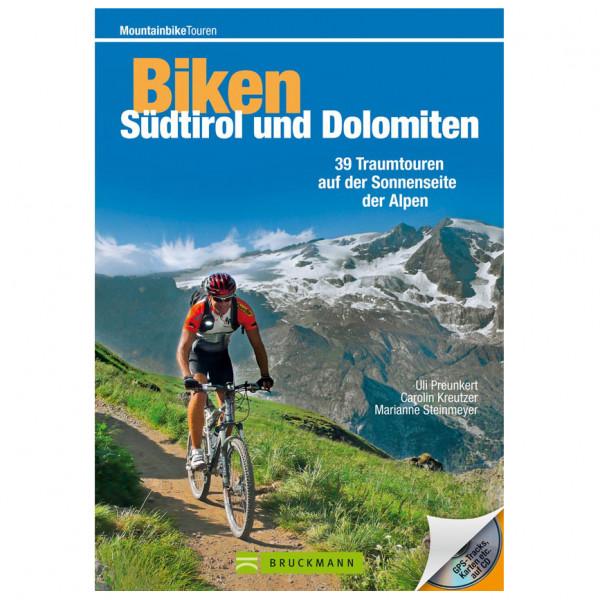 Bruckmann - Biken Südtirol und Dolomiten - Guide vélo