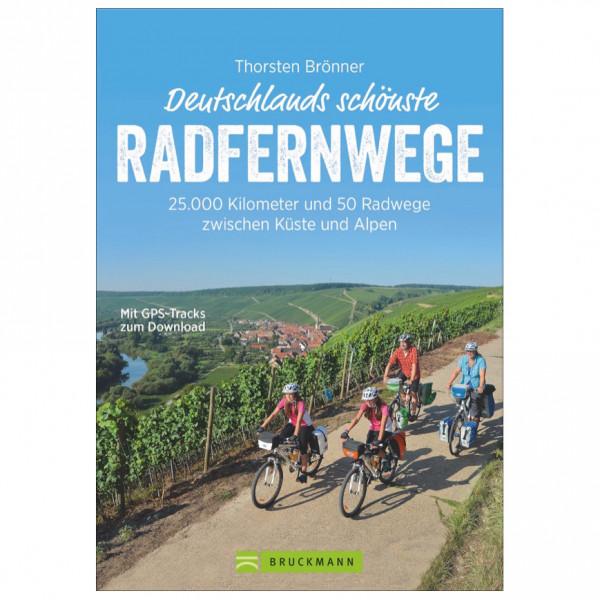 Bruckmann Deutschlands schönste Radfernwege - Cykelguides køb online | Cycle maps