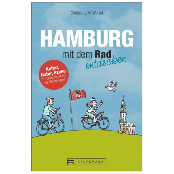 Bruckmann - Hamburg mit dem Rad entdecken - Cykelguides