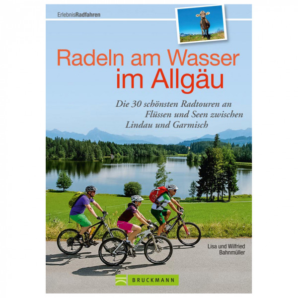 Bruckmann - Radeln am Wasser im Allgäu - Cycling guide