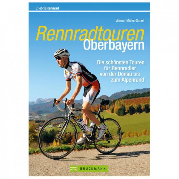 Bruckmann Rennradtouren Oberbayern - Cykelguides køb online | Cycle maps