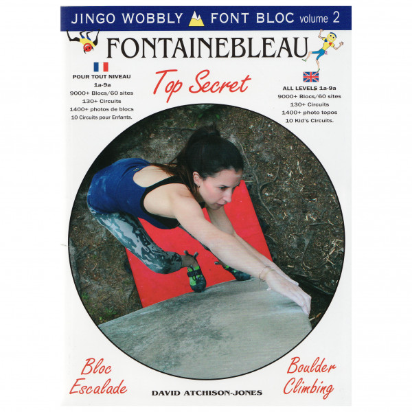 Vision Poster Co - Font Bloc Volume 2 - Bouldering guide
