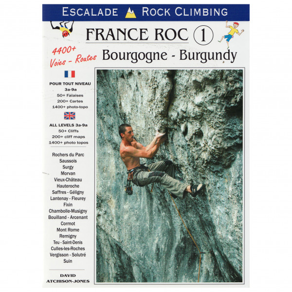 Vision Poster Co - FRANCE ROC 1 Bourgogne - Climbing guide