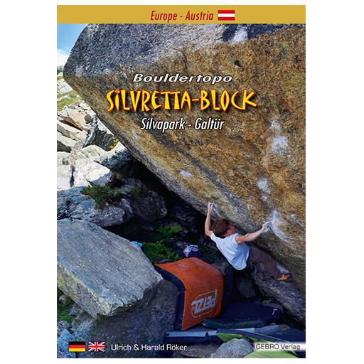 Gebro-Verlag - Silveretta-Block - Bouldering guide