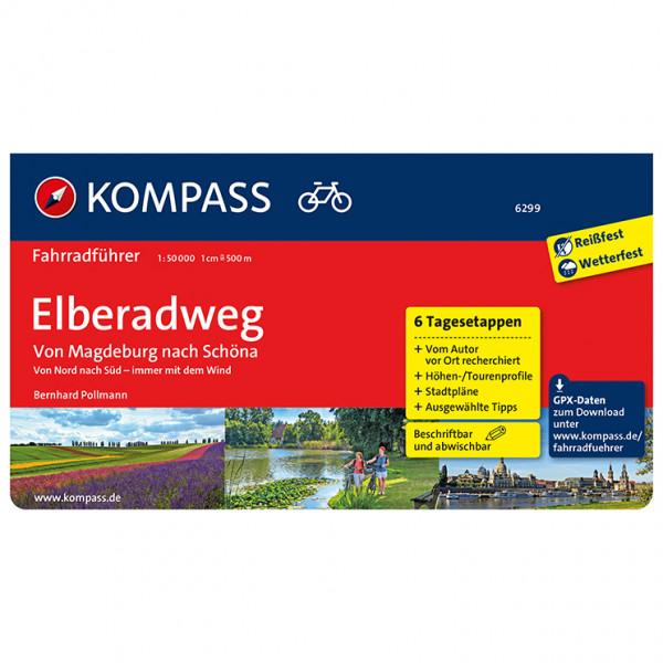 Kompass - Fahrradführer Elberadweg von Magdeburg nach Schöna - Radführer