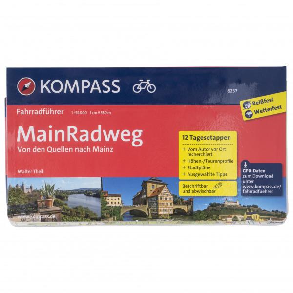 Kompass - Fahrradführer MainRadweg Quellen Mainz - Cykelguider