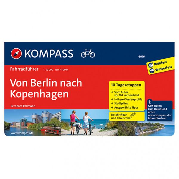 Kompass Fahrradführer Von Berlin nach Kopenhagen - Cykelguides køb online | Cycle maps