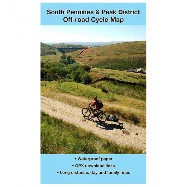 Excellent Books - South Pennines and Peak District - Radkarte