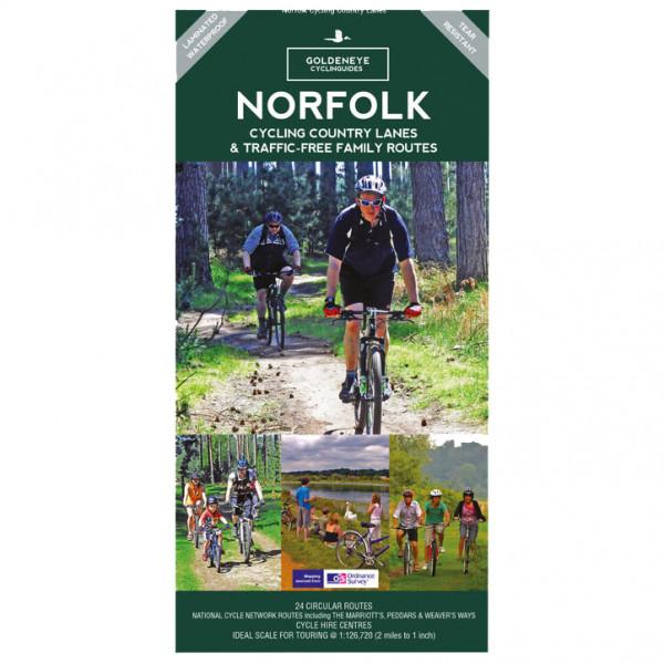 Goldeneye - Norfolk Cycling Country Lanes Traffic Free Routes - Fietskaarten