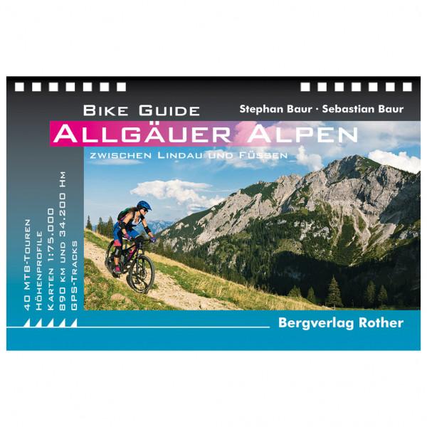 Bergverlag Rother - Bike Guide Allgäuer Alpen - Cykelguides