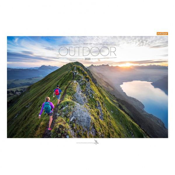 tmms-Verlag - Best of Outdoor 2020 - Calendrier
