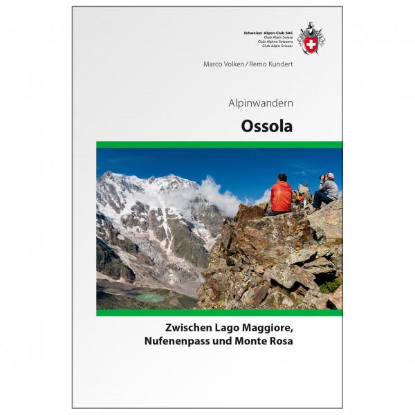 SAC-Verlag - Alpinwandern Ossola - Alpina klätterförare