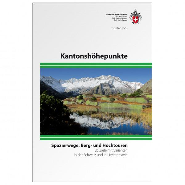 SAC-Verlag - Kantonshöhepunkte - Alpine Club guide