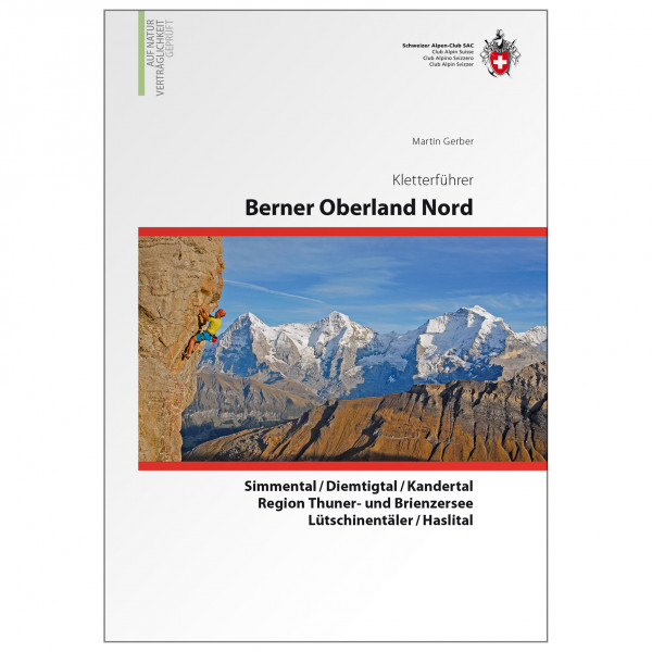 SAC-Verlag - Berner Oberland Nord - Alppiyhdistysten oppaat